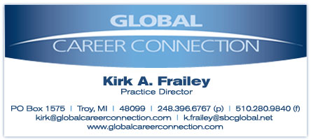 Global Career Connection Business Card